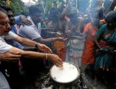 """احتفالات مهرجانا """"البونجال"""" و""""ماكار سانكرانتى"""" فى الهند وسريلانكا (صور)"""