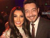 أحمد زاهر ينشر صورة برفقة روجينا ويعلق: رفيقة النجاح ربنا يكرمك يا حبيبتى