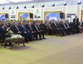 السيسى: أناشد المصريين بالتبرع لجامعة زويل لاستكمالها تقديرا لمكانة الراحل (صور)