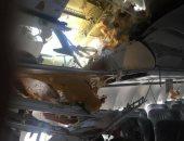 صور.. مسئول ليبى: تضرر 4 طائرات جراء الاشتباكات بمحيط مطار معيتيقة