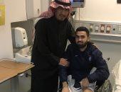 الهلال السعودى يفتقد نجمه السورى عمر خربين شهرا للإصابة