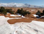 فيديو.. تجمد المياة من شدة البرد فى السعودية