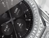 تعرف على الساعة الذكية الأغلى فى العالم.. مزودة بـ589 قطعة من الألماس