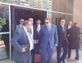 """فيديو وصور.. وزير القوى العاملة يفتتح فعاليات """"مصر أمانة بين أيديك"""" ببورسعيد"""
