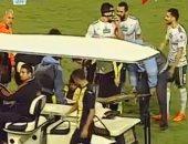 """فيديو.. إصابة """"هلال"""" تُظهر عيد عبد الملك لأول مرة مع دجلة أمام المصرى"""