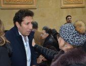 هانى رمزى ناعياً فاروق الفيشاوي : مع السلامة يا روقة