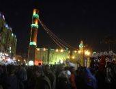 الشيخ محمود التهامى يبدأ وصلته بالليلة الكبيرة لذكرى استقرار رأس الحسين