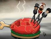 حال الدنيا.. لئام على موائد الكرام.. أنياب تركيا وإيران وإسرائيل تنهش لحم العرب