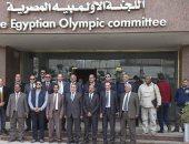 الأولمبية تهنئ الرئيس السيسي والدولة المصرية على نجاح بطولة امم افريقيا