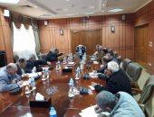 """محافظ بورسعيد يوجه بإزالة المزارع السمكية المخالفة لاستكمال محور """"30 يونيو"""""""
