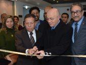"""(صور) السفير المغربى بالقاهرة يفتتح المعرض الدولى """"وحدات الحياة"""
