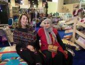 غادة والى: إقامة معرض للحرف اليدوية فى الكويت 18 فبراير