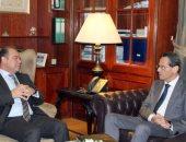 محمد فريد يبحث مع الرئيس التنفيذى لبنك الإسكندرية تطوير المشروعات الصغيرة