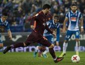 أخبار ميسى اليوم عن عقدة نجم برشلونة أمام لوبيز فى ركلات الجزاء
