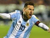 """ميسي يقترب من معادلة رقمي """"بيليه"""" و""""مارادونا"""" بعد هدفه فى الإكوادور"""
