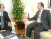 أمين عام مساعد الجامعة العربية لمسئول بتيار الحكمة العراقى: ندعم الدولة الوطنية