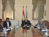 رئيس قطاع التعليم يبحث سبل التعاون مع الجانب الإثيوبى