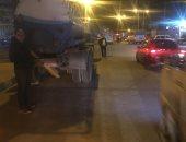 عواصف ترابية وأمطار غزيرة على الإسكندرية فى نوة الغطاس