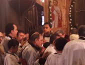 صور وفيديو.. البابا تواضروس يترأس قداس عيد الغطاس بالإسكندرية