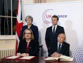 صور.. بريطانيا وفرنسا يوقعان معاهدة حول مراقبة الهجرة على الحدود بينهما