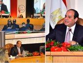 """الرئيس السيسى فى مؤتمر حكاية وطن: قضيتى """"إنقاذ أمة"""""""