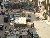 صور.. شكوى من انتشار القمامة وعربات الكارو بشارع الترعة فى بشتيل