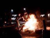 صور.. استمرار إضراب حراس السجون بفرنسا احتجاجا على إصابة زملائهم