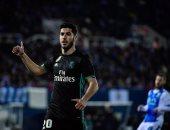 كل أهداف الخميس.. أسينسيو يخطف فوزاً قاتلاً لريال مدريد فى كأس الملك