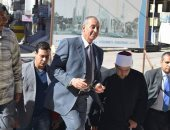 صور ..وزير الأوقاف يتفقد أعمال الإنشاءات بمسجد الدهار الكبير بالغردقة