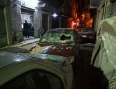بسبب الأحوال الجوية والرياح.. قراء يشاركون بصور لحوادث فى الإسكندرية