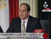 الرئيس السيسي: أطالب الشباب بالتقدم والاضطلاع بدورهم السياسى
