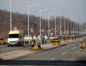 صور.. كوريا الجنوبية تستعد إلى الأولمبياد وسط انتقادات لمشاركة بيونج يانج
