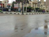 شوارع البحيرة تتحول إلى مستنقعات بعد سقوط أمطار غزيرة مصحوبة برياح
