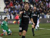 فيديو.. أسينسيو يقود ريال مدريد لفوز قاتل على ليجانيس فى كأس إسبانيا