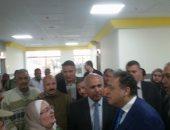 فيديو وصور.. وزير الصحة يتفقد مستشفى بنى سويف العام قبل افتتاحه
