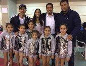 """بالصور.. """"هنا محمد"""" تحصد ميدالية برونزية فى بطولة القاهرة للجمباز"""