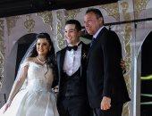 هشام عباس والليثى يحييان حفل زفاف مدير نيابة أكتوبر بحضور الخطيب والصقر