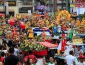 """صور.. انطلاق موكب ضخم لـ""""يسوع"""" فى الفلبين"""