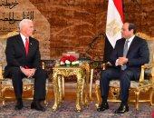 نائب الرئيس الأمريكى لـ السيسى: مصر شريك استراتيجى مهم لواشنطن