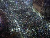 الآلاف يحتجون فى رومانيا للمطالبة باستقالة الحكومة