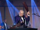 الموسيقار العالمى جورج زامفير: جئت إلى مصر لمنح مرضى السرطان الأمل بالموسيقى (صور)