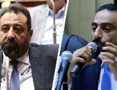 فيديو وصور.. مشادة بين مجدى عبدالغنى ورئيس الترسانة بسبب الميكروفون بمؤتمر الجبلاية