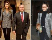 شاهد.. الملكة رانيا وبيلا حديد يرتديان نفس الجاكيت فى وقت واحد