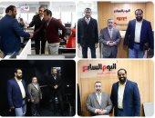 """قياديان بحماس يزوران """"اليوم السابع"""" ويشيدان بدعم الصحيفة للقضية الفلسطينية"""