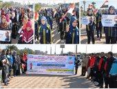 انطلاق مهرجان المشى والجرى بالأقصر بالتعاون مع وزارة الشباب والرياضة