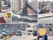 المرور يغلق كوبرى على باشا بالسيدة عائشة بسبب إصلاحات لمدة أسبوعين