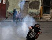 صور.. تجدد أعمال العنف فى هندوراس خلال مظاهرات رافضة للنتائج الرئاسة