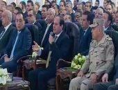 السيسي: الشراء المجمع للمستلزمات المطلوبة فى مصر لم يشعرنا بقرار التعويم