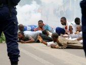 صور.. اشتباكات عنيفة فى الكونغو احتجاجا على بقاء الرئيس كابيلا فى السلطة