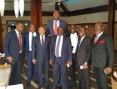 رئيس الكاف يصل ليبيريا لحضور حفل تنصيب جورج وايا رئيسا للبلاد